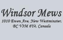Windsor Mews 1010 EWEN V3M 5C9