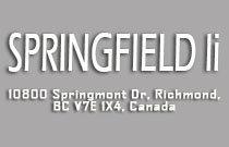 Springfield II 10800 SPRINGMONT V7E 3S5
