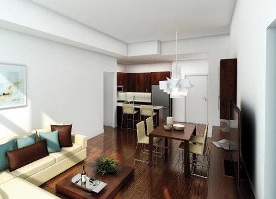 3912 Carey Road, Victoria, BC V8Z 4E3, Canada Interior Rendering Caldecote condominium in Walnut colour scheme!