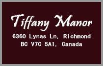 Tiffany Manor 6360 LYNAS V7C 5C9