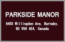 Parkside Manor 6455 WILLINGDON V5H 4E4