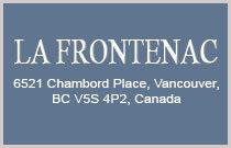 La Frontenac 6521 CHAMBORD V5S 4P2