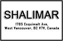 Shalimar 1785 ESQUIMALT V7V 1R7