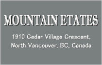 Mountain Estates 1910 CEDAR VILLAGE V7J 3M5