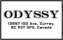 Odyssey 13867 100TH V3T 5P5