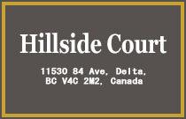 Hillside Court 11530 84TH V4C 2M1
