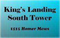 Kings Landing South Tower 1515 HOMER V6Z 3E8