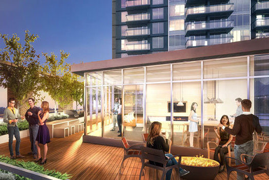 988 Quayside Drive, New Westminster, BC V3M 6G1, Canada Rooftop!