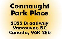 Connaught Park Place 2355 BROADWAY V6K 2E6