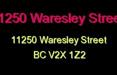 11250 Waresley Street 11250 WARESLEY V2X 1Z2