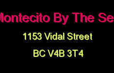 Montecito By The Sea 1153 VIDAL V4B 3T4