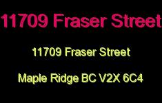 11709 Fraser Street 11709 FRASER V2X 6C4