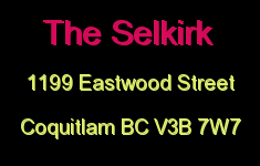 The Selkirk 1199 EASTWOOD V3B 2P8