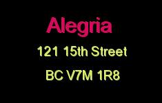 Alegria 121 15TH V7M 1R8