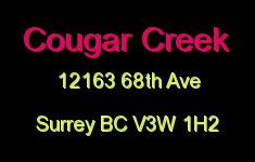 Cougar Creek 12163 68TH V3W 1H2