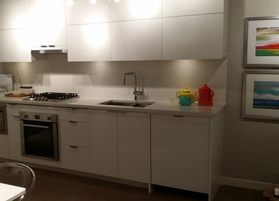 The Spot Display Suite Light Kitchen!