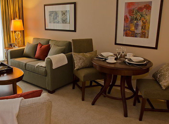 Typical Suite Living Room!