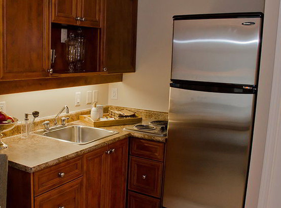 Typical Suite Kitchen!