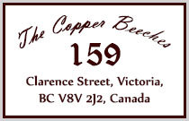 The Copper Beeches 159 Clarence V8V 2H9