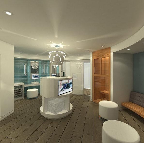 Opsal Developer's Display Amenity And Sauna!