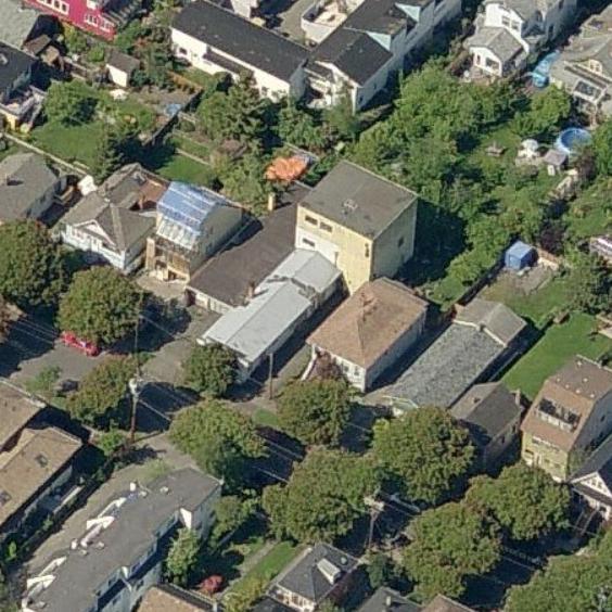 ONE ONE EIGHT - 118 Ladysmith Street, Victoria, BC - Birds eye view!