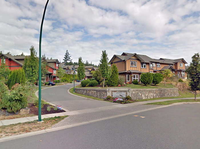 Westridge Townhomes Victoria BC Main Entrance!