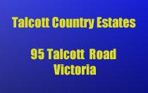 Talcott Country Estates 95 Talcott V9B 5T9