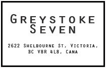 Greystoke Seven 2622 shelbourne V8R 4L9