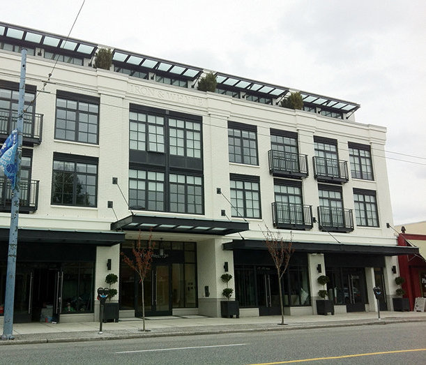 Iron & Whyte  Vancouver BC, Exterior!
