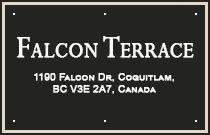 Falcon Terrace 1190 FALCON V3E 2M4