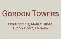 Gordon Towers 11980 222ND V2X 0L8