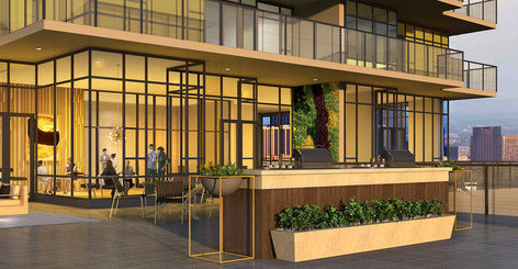 Amenities Room and Patio!