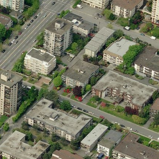 120 East 5th North Vancouver BC Birds Eye View!