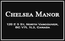 Chelsea Manor 120 5TH V7L 1L5