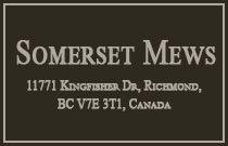 Somerset Mews 11771 KINGFISHER V7E 3T1