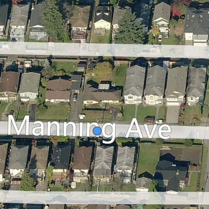 1935 Manning Avenue, Port Coquitlam, BC V3B 1L3, Canada Location Birds Eye View !