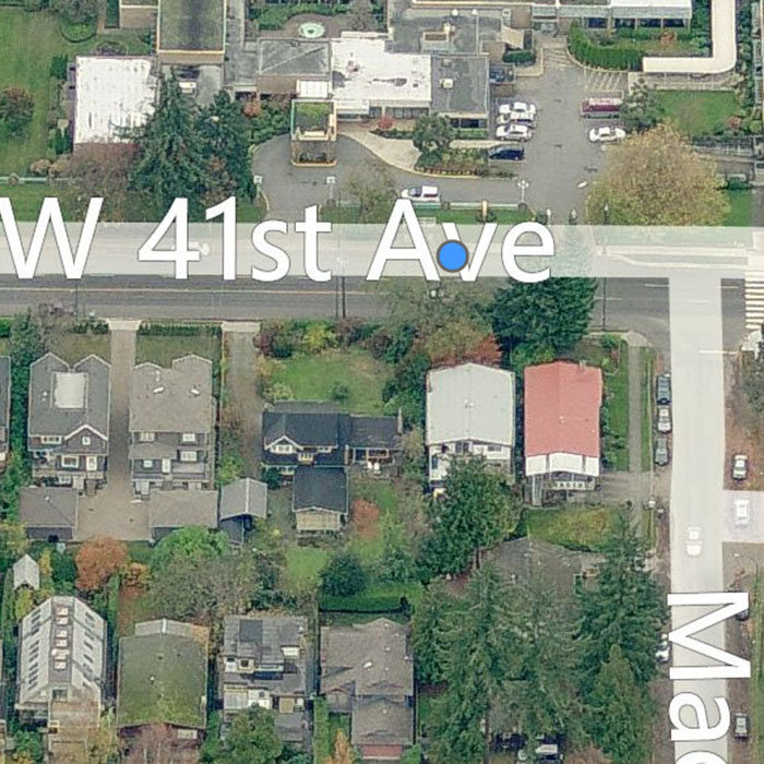 2816 West 41st Avenue, Vancouver, BC V6N 3C6, Canada Birds Eye View!