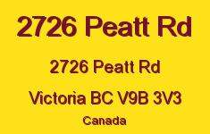 2726 Peatt Rd 2726 Peatt V9B 3V3