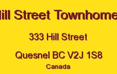Hill Street Townhomes 333 HILL V2J 1S8