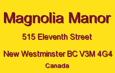 Magnolia Manor 515 ELEVENTH V3M 4G4
