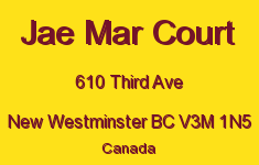 Jae Mar Court 610 THIRD V3M 1N5