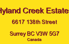 Hyland Creek Estates 6617 138TH V3W 5G7