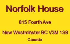 Norfolk House 815 FOURTH V3M 1S8