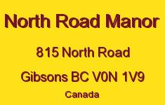 North Road Manor 815 NORTH V0N 1V9
