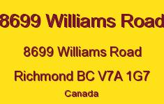 8699 Williams Road 8699 WILLIAMS V7A 1G7