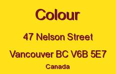 Colour 47 Nelson V6B 5E7
