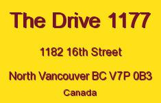 The Drive 1177 1182 16TH V7P 0B3