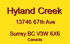 Hyland Creek 13746 67TH V3W 6X6