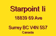Starpoint Ii 18839 69 V4N 5S7