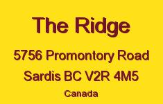 The Ridge 5756 PROMONTORY V2R 4M5
